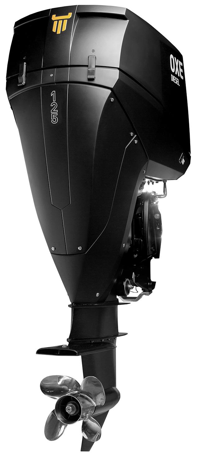 OXE Diesel 125 hp outboard diesel engine - OXE Diesel