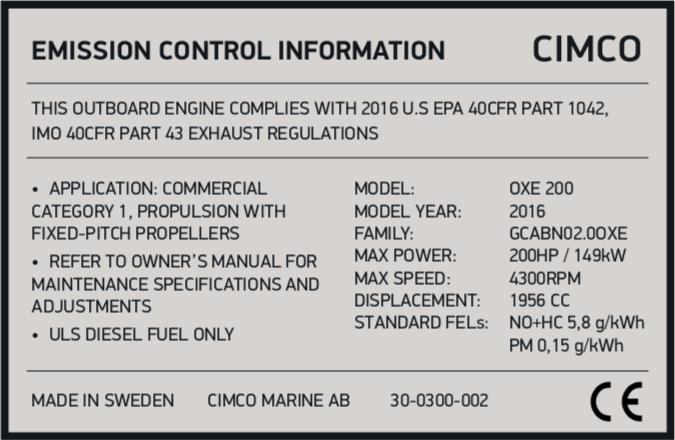 Epa Engine Family Name Lookup